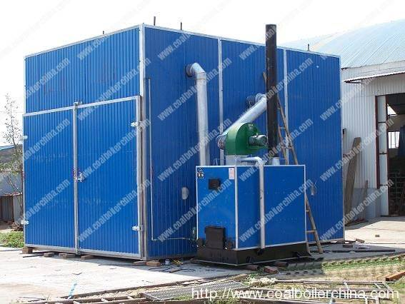 Coal Fired Hot Air Furnace Dryer House