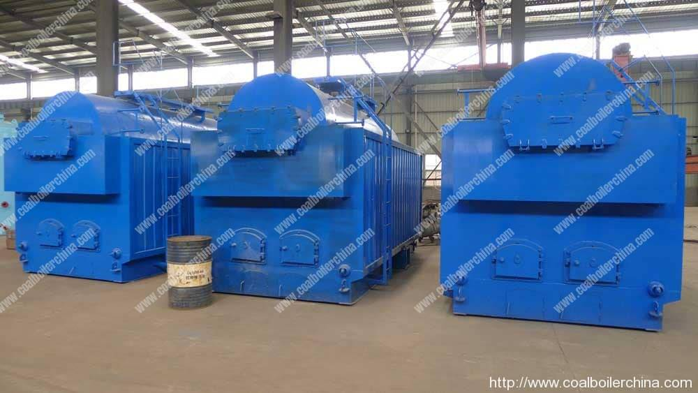 DZH Moving Grate Coal Fired Steam Boilers