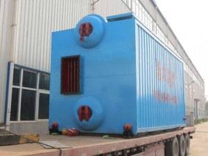 SZL Double Drum Chain Grate Coal Fired Steam Boilers