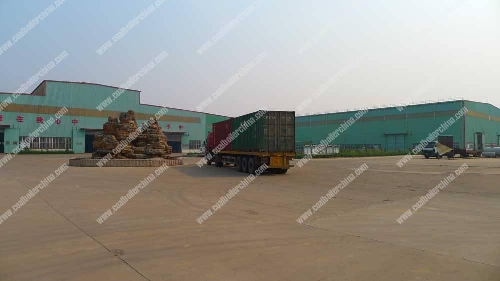 Thermal-Oil-Boiler-Factory-Yard