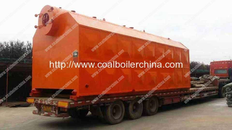 SZL15 Double Drum Chain Grate Coal Fired Steam Boilers