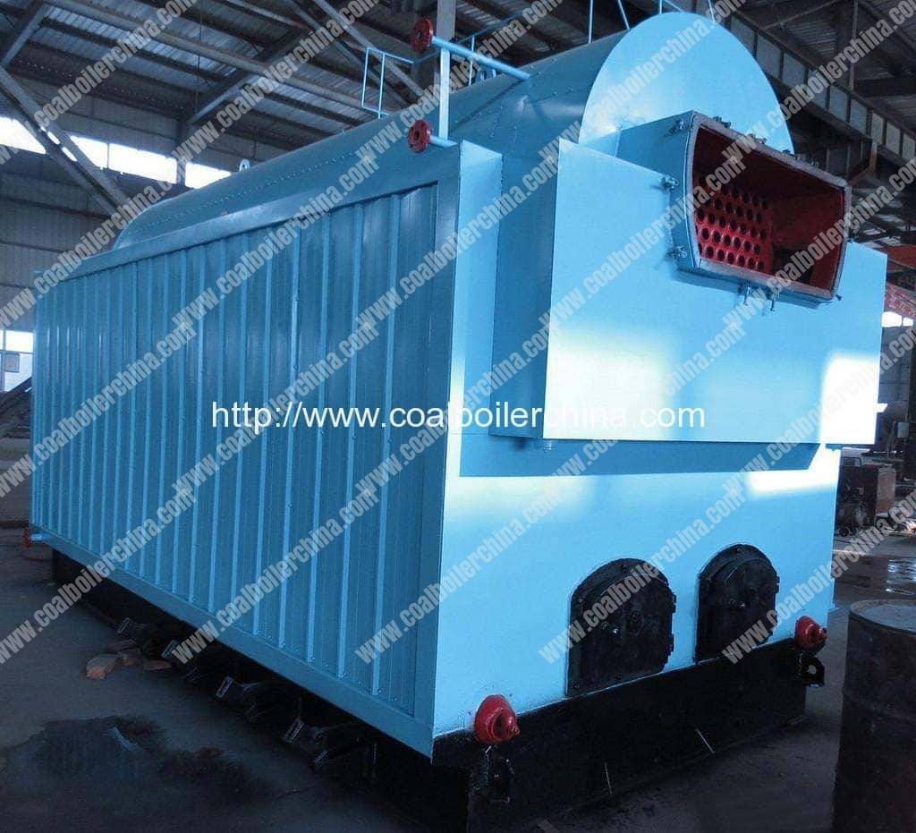 DZH1 1TPH Moving Grate Coal Fired Steam Boilers