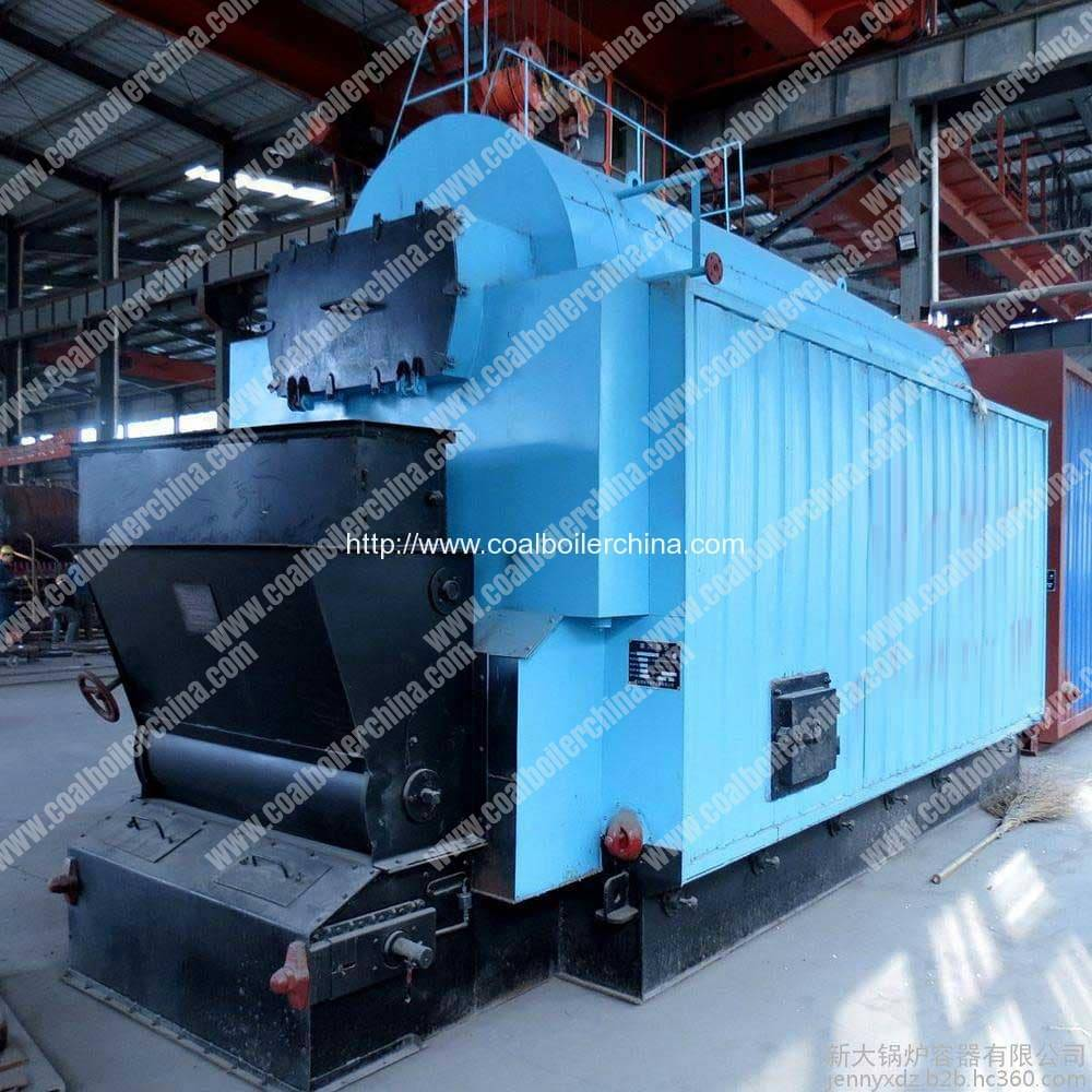 CDZL 1400KW Chain Grate Coal Fired Hot Water Boilers