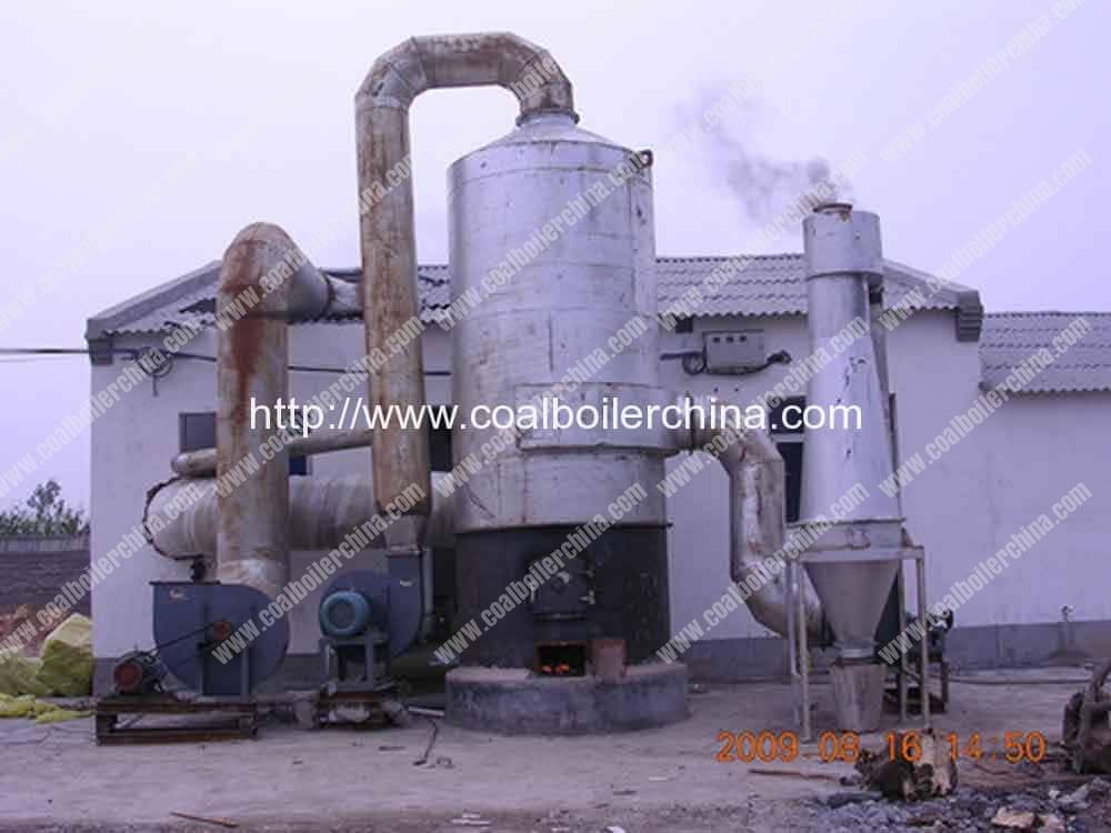 Vertical Coal Fired Hot Air Furnace