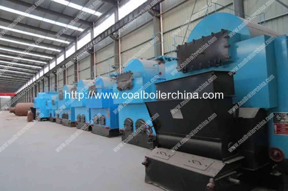 CDZH 4200KW Moving Grate Coal Fired Hot Water Boilers