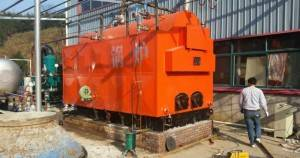 2TPH Waste Wood Fired Steam Boilers