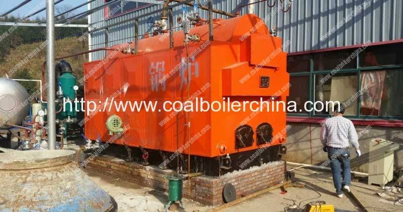 2TPH Waste Wood Fired Steam Boilers