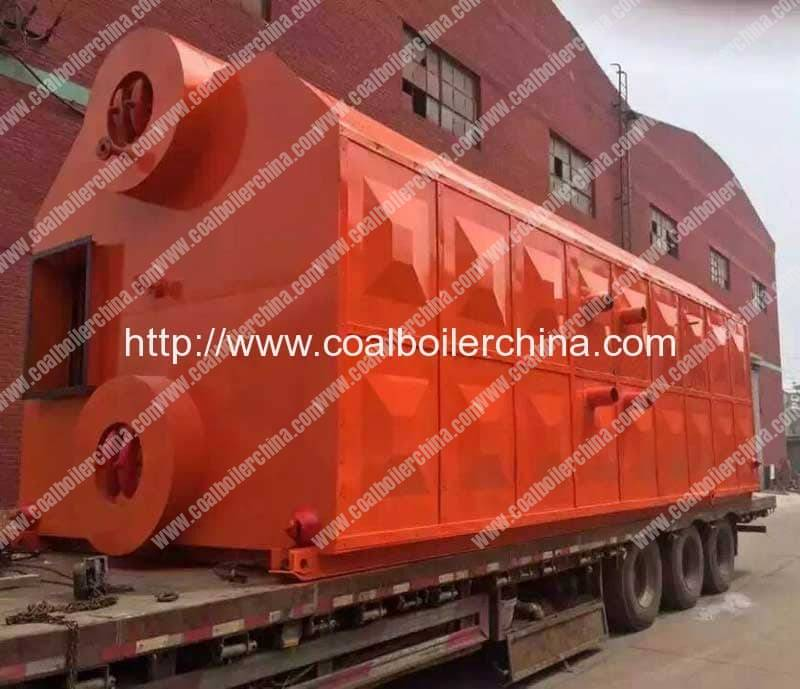 SZL12 Double Drum Chain Grate Coal Fired Steam Boilers