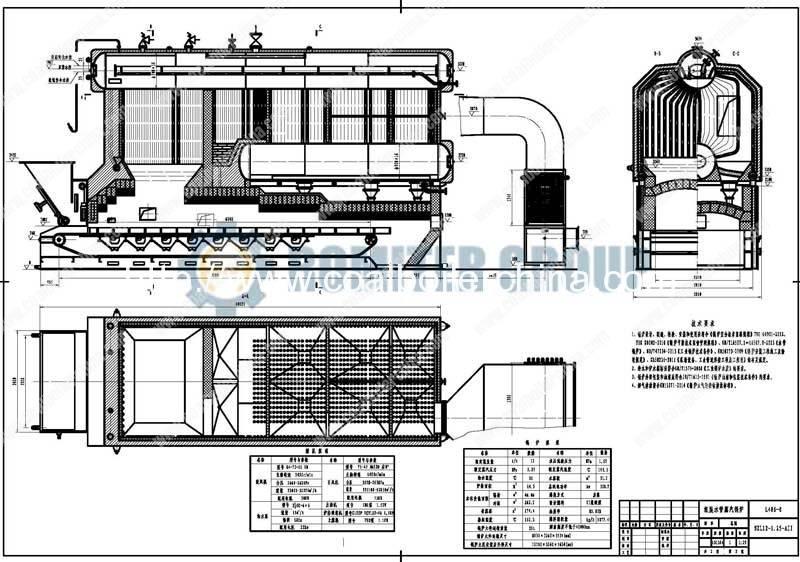 SZL12T-Chain-Grate-Coal-Fired-Steam-Boilers