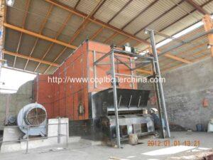 RFL Horizontal Coal Fired Hot Air Furnace
