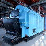 CDZL 700KW Travelling Grate Coal Fired Hot Water Boilers